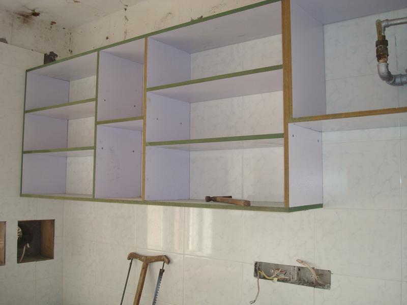 木工做衣柜现场施工图