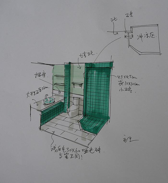 3米老师精致的手绘图