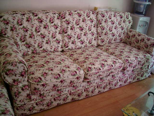 > 专业沙发套制作