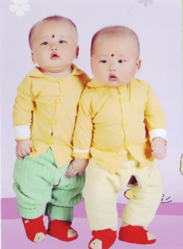 我家漂亮的双胞胎兄弟(内空)