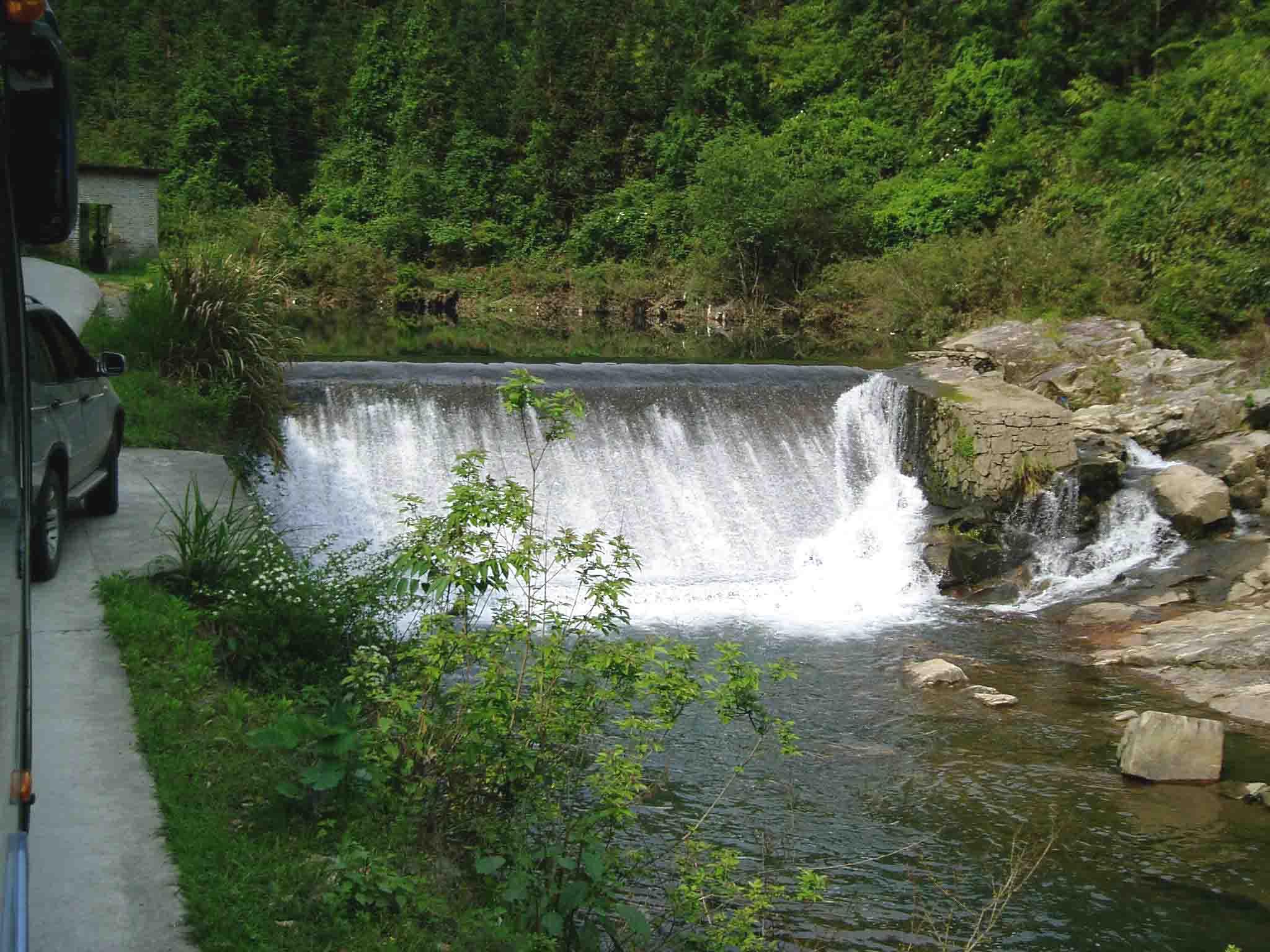 壁纸 风景 旅游 瀑布 山水 桌面 2048_1536