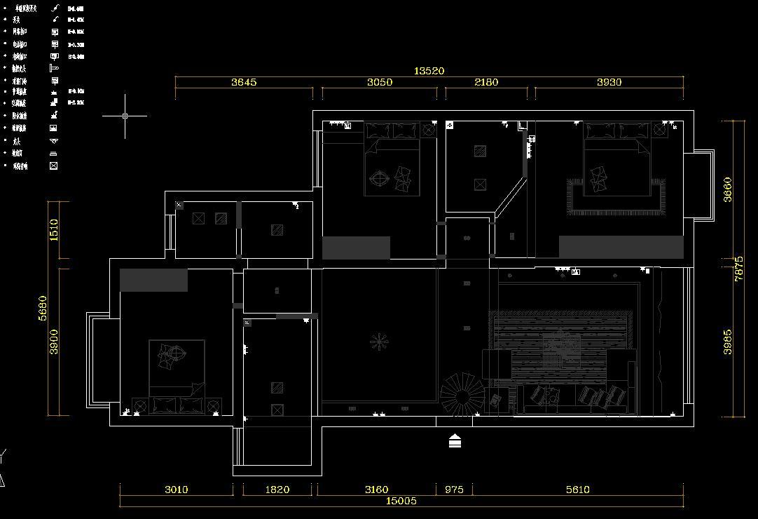 我房子设计图纸及电路改造