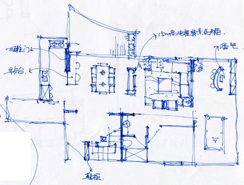 重新上传清晰的房屋结构和尺寸图