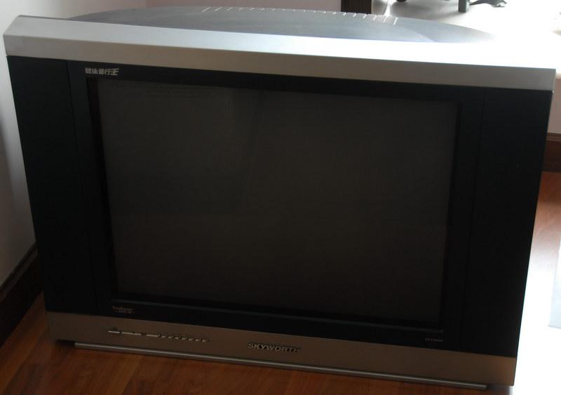 转让自用创维29寸电视一台,工作正常,无维修史