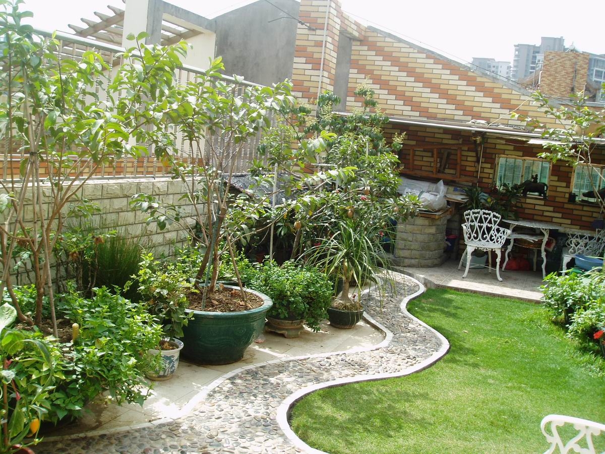 花园装修效果图