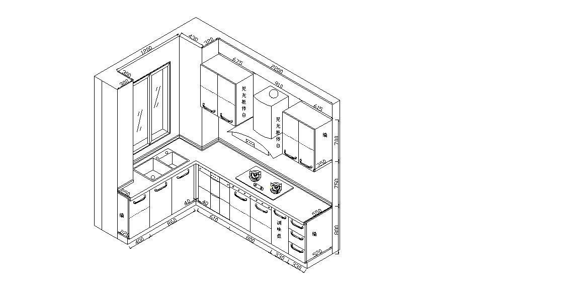 酒店厨房给排水,排烟,厨房设备全套设计图简介