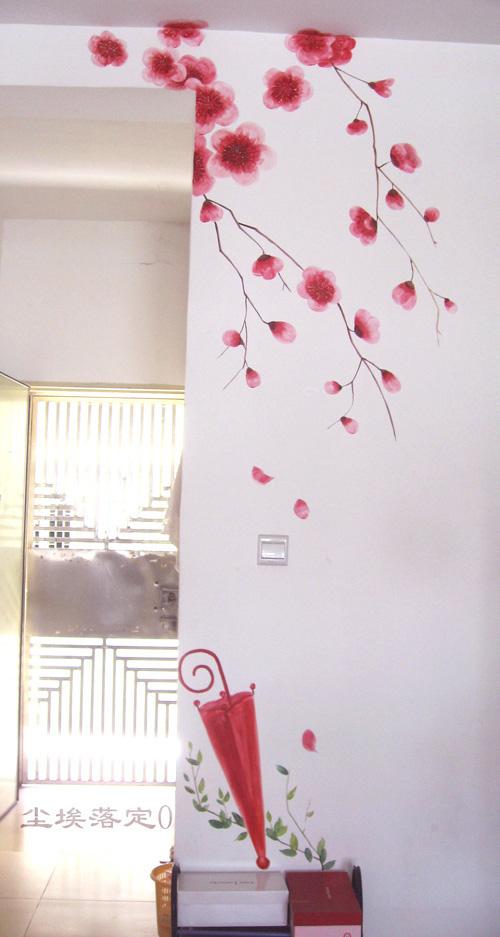 手绘墙画——个性自由的选择