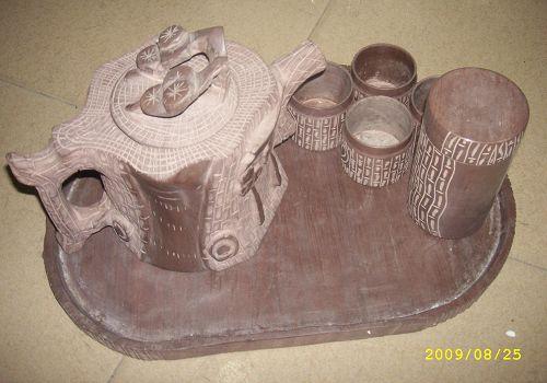 低价出售纯天然木鱼石保健杯 桃木梳子桃木挂件工艺品中国结