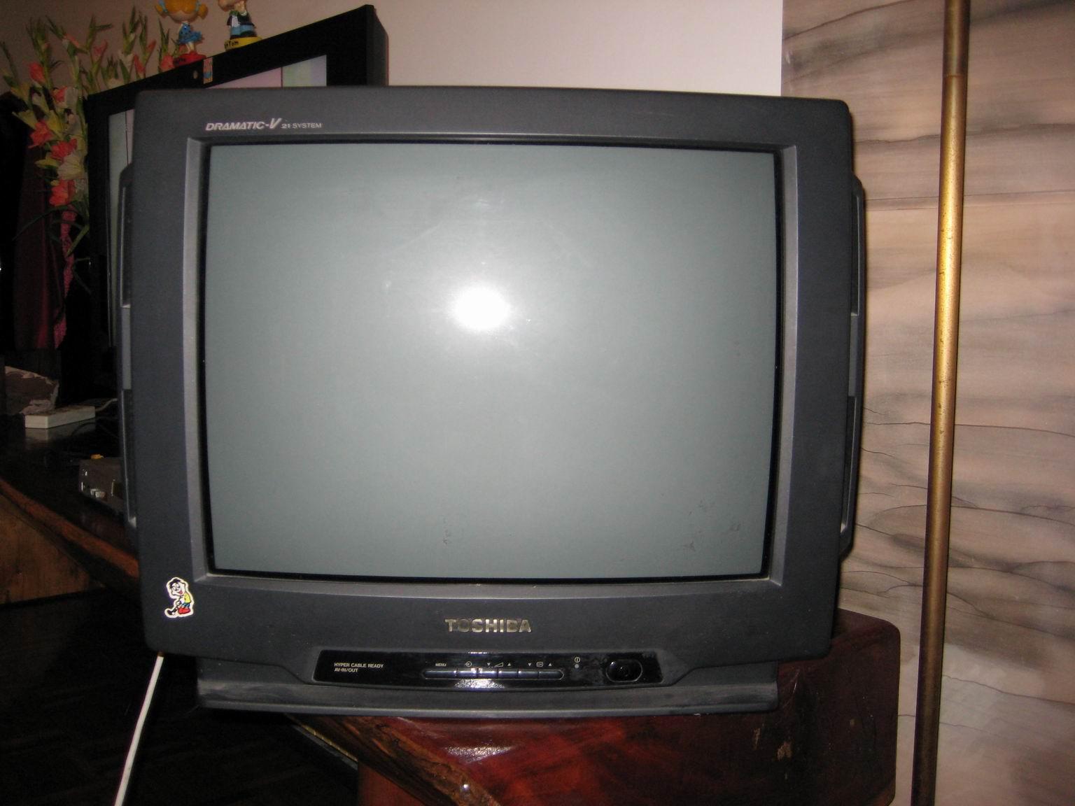 轉讓14寸toshiba彩色電視機