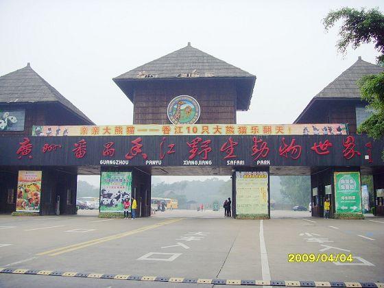 番禺长隆直通车:香江野生动物园/长隆欢乐世界/水上