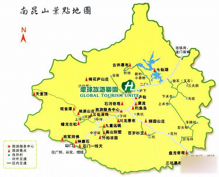 惠州七星 地图全图