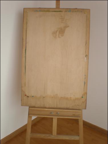 转让:实木画板,画架