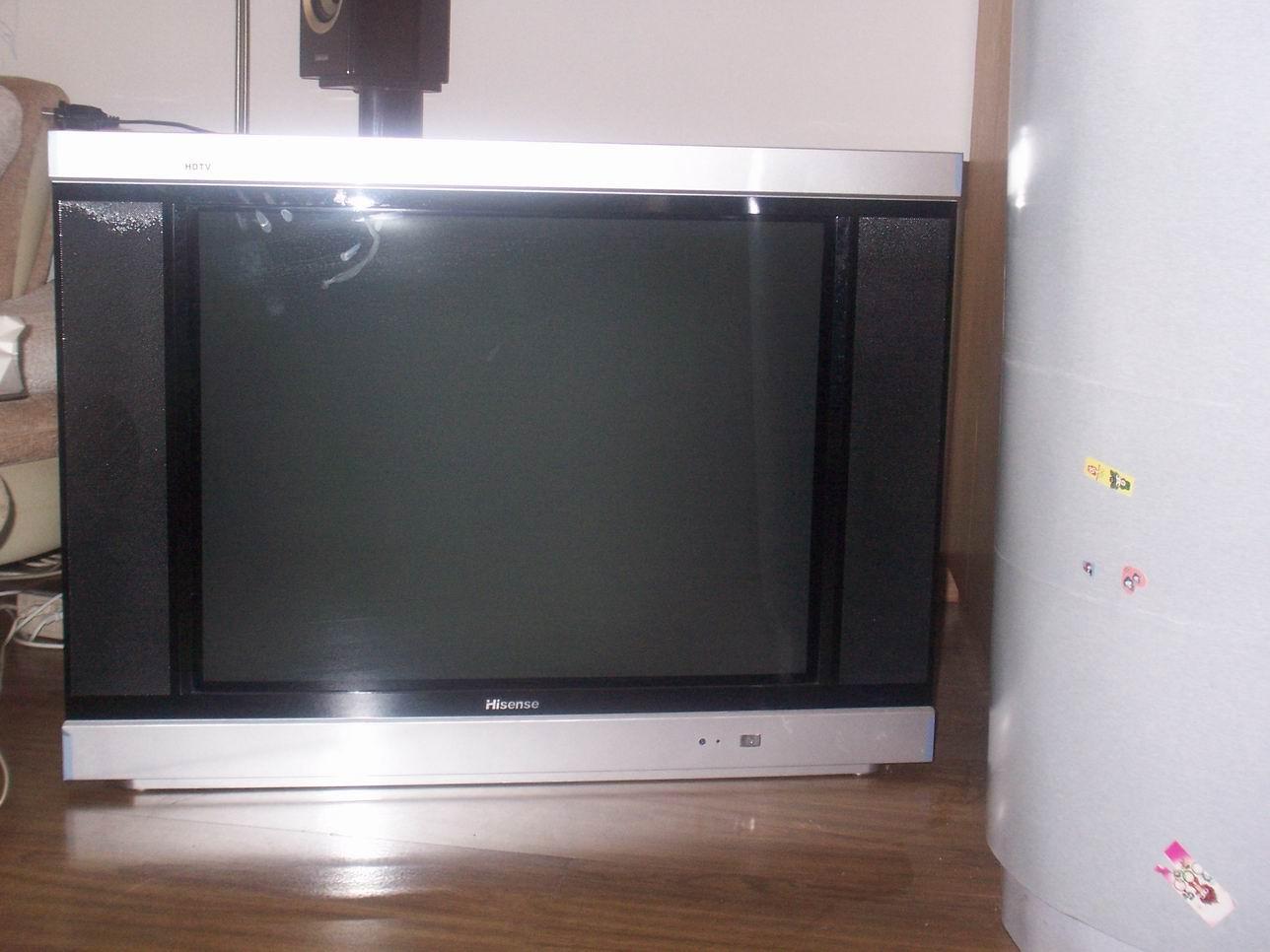 > 转让34寸海信数字高清电视机