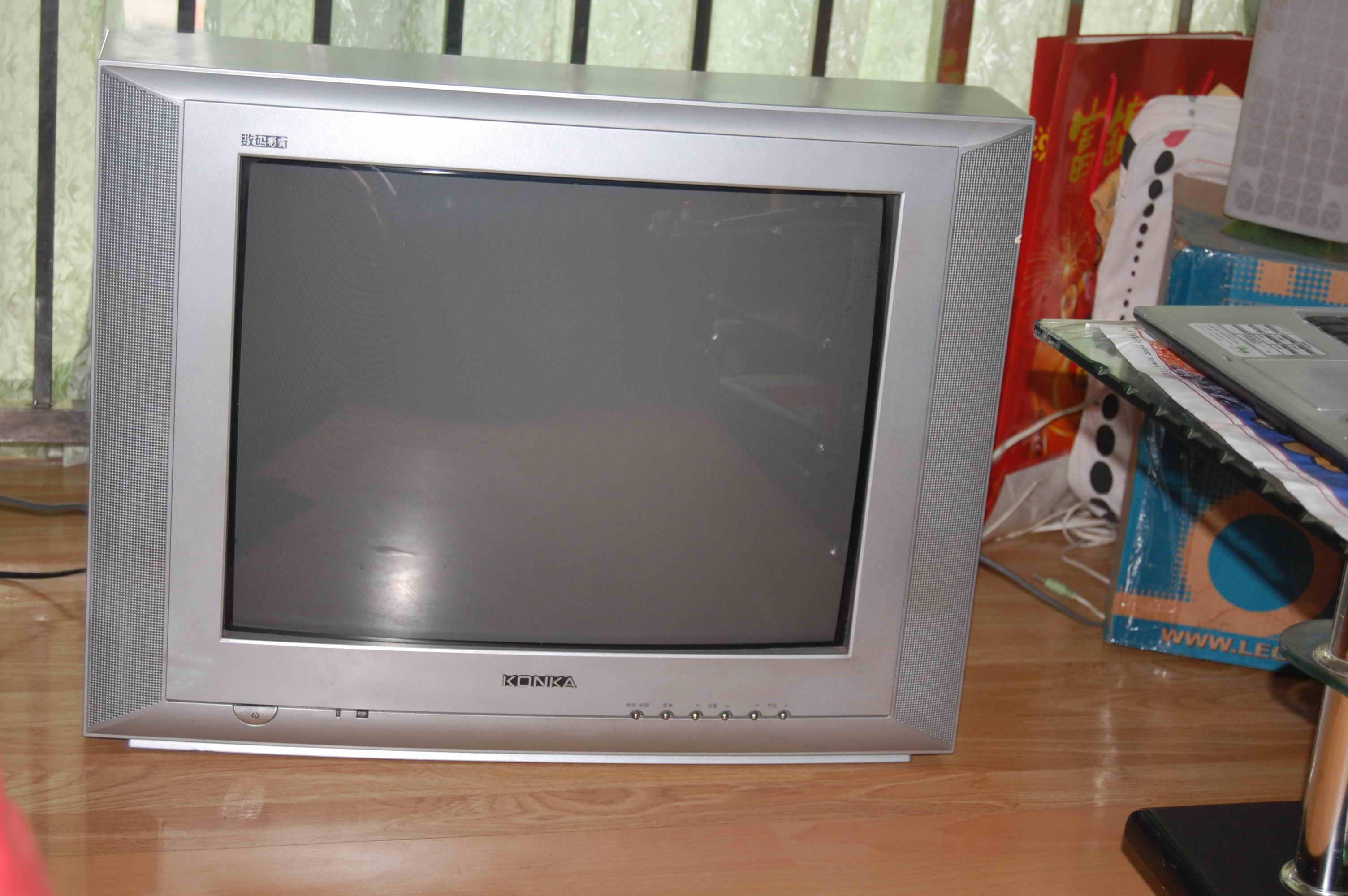 转康佳21寸电视 型号t2122a 200元 南山南山村