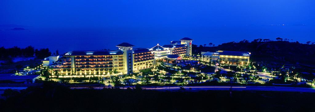 中国大陆架上最好的国际滨海度假酒店:喜来登酒店
