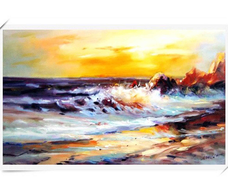 我的油画作品 风景写生