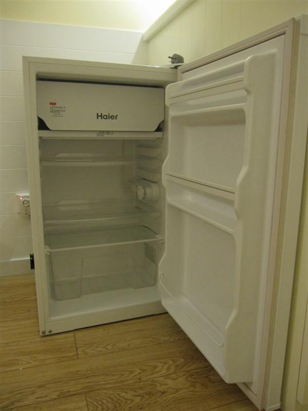 搬家处理九成新海尔单开门冰箱