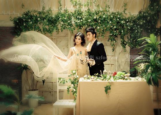 深圳天长地久婚纱摄影体验之旅活动再次接受情侣报名了!