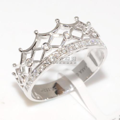 完美公主系列----最牛的钻石皇冠戒指团购(春节前出货