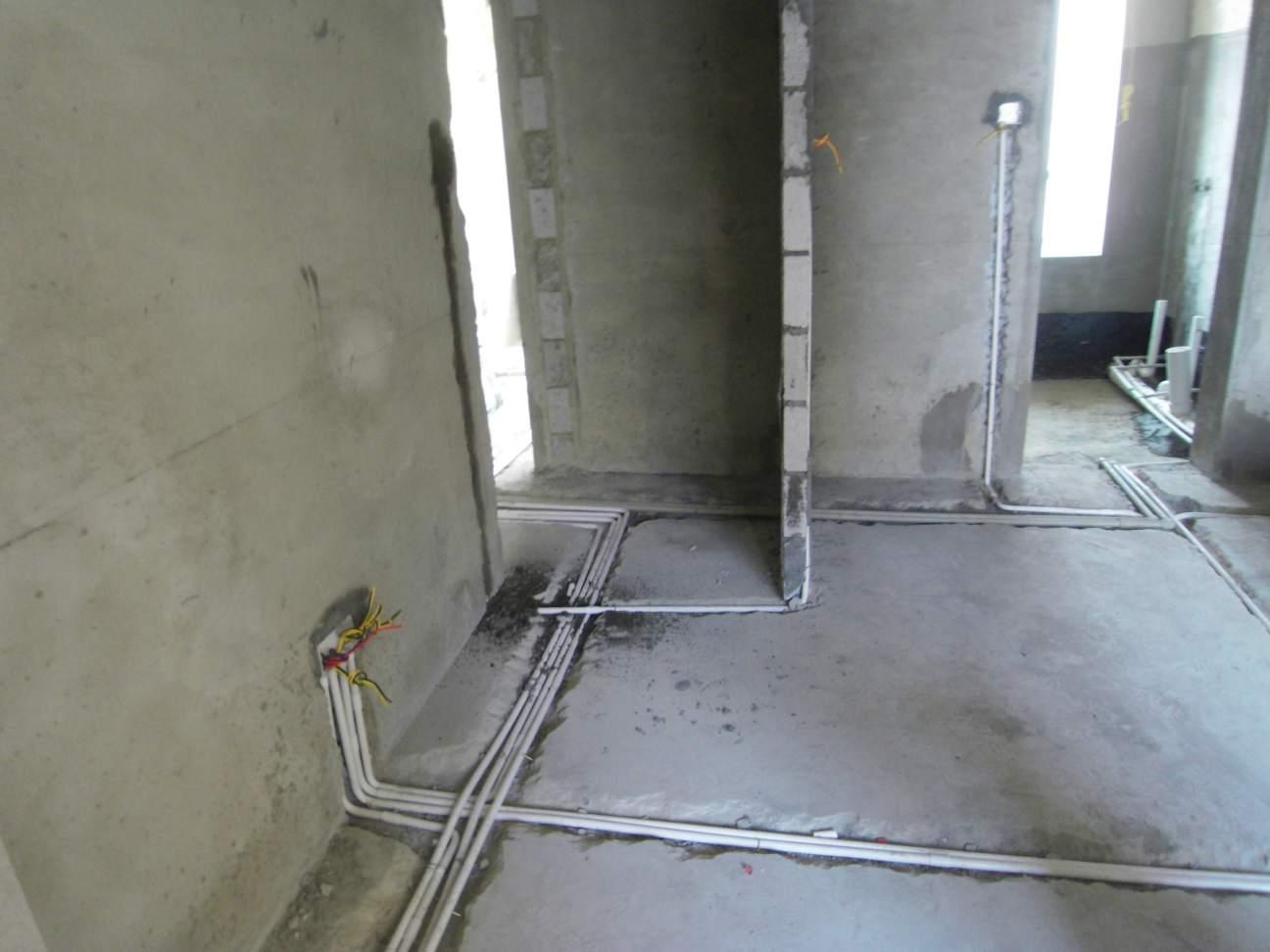 > 惠陽〈中天彩虹城〉125平方房子,水電工程裝修進行中.