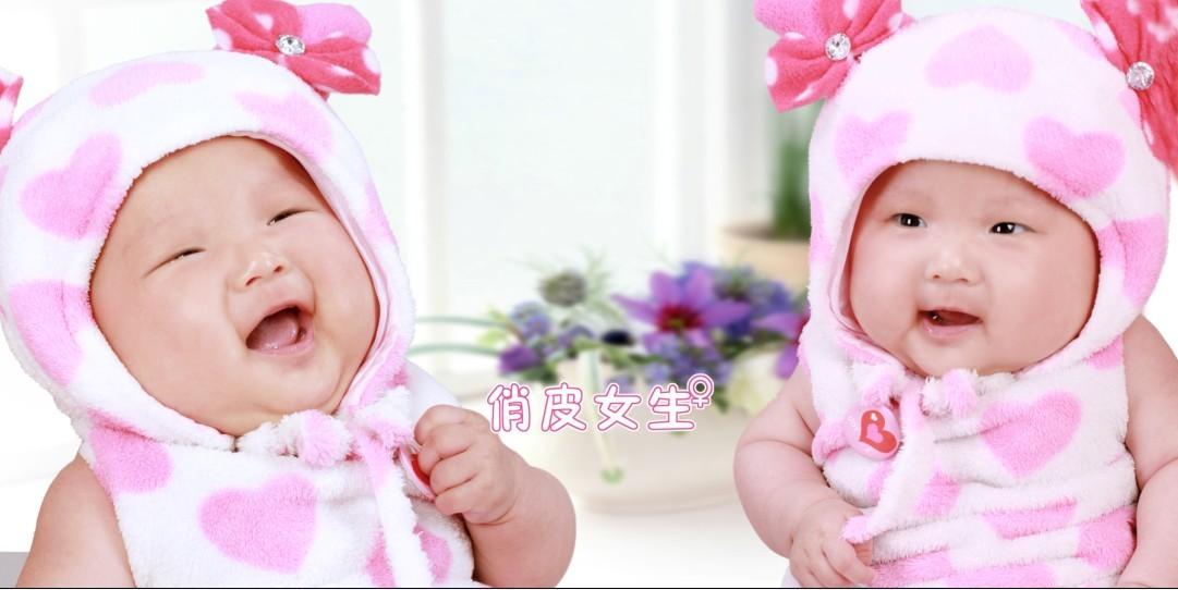 可爱宝宝照双胞胎图片;