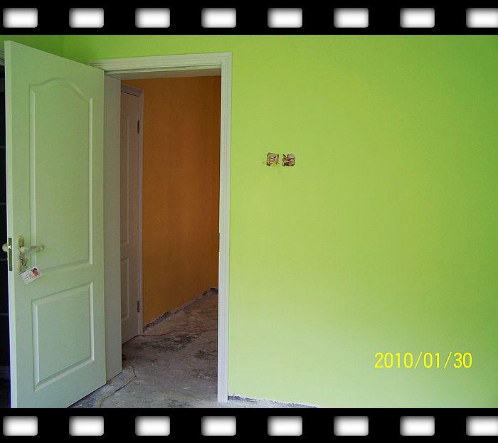 浅绿色墙漆效果图图片分享;