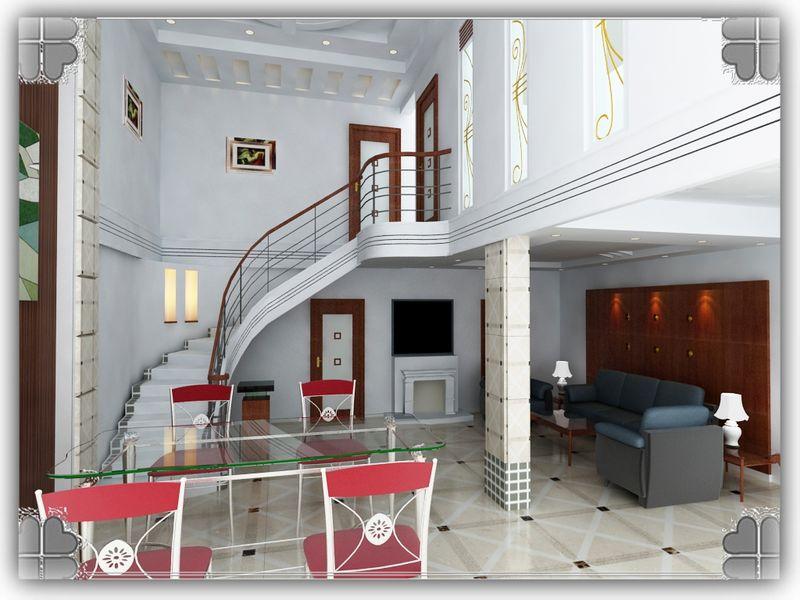农村平房室内装修楼梯