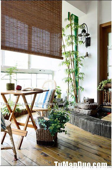 阳台不只是晾衣服用的,30款惬意阳台打造休闲人生