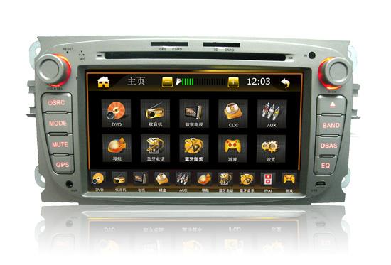 2017款蒙迪欧收音机拆装步骤图