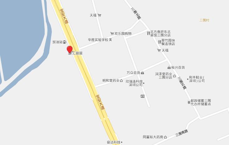 > 深圳宝安大道西乡三围天桥 汇庭居 汇腾阁1205 精装 带电梯 出租