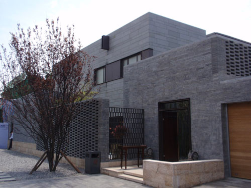 中式奢华独栋别墅外观