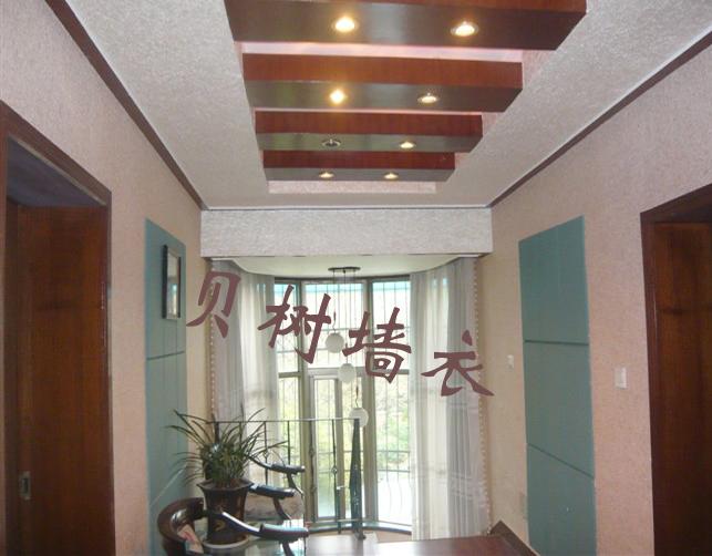 贝树墙衣淄博总代理 影视墙 室内装修设计 儿童房