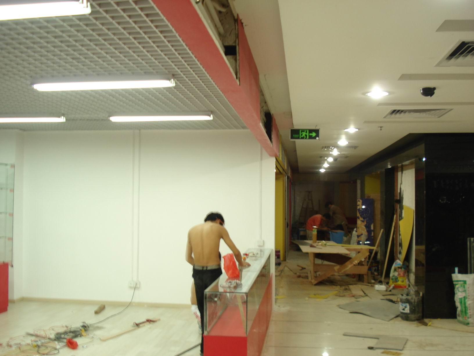 墙面装饰双面木工板基层
