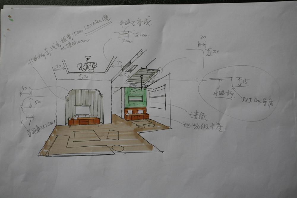3米老师精致的手绘图_设计师沙龙