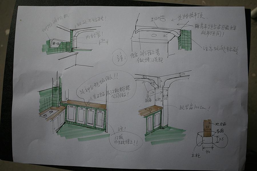 3米老师精致的手绘图 图片