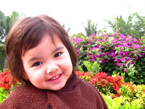 唯美可爱笑脸图片大全