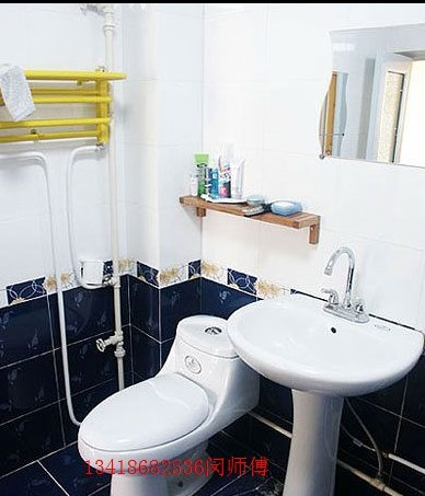 洗手间需要简单装修 高清图片