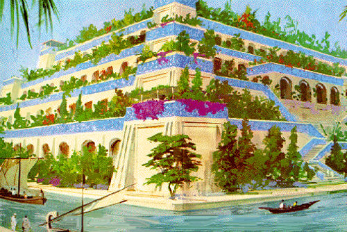 原始巴比伦空中花园是这样子的!