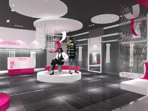 深圳专卖店设计,展厅设计