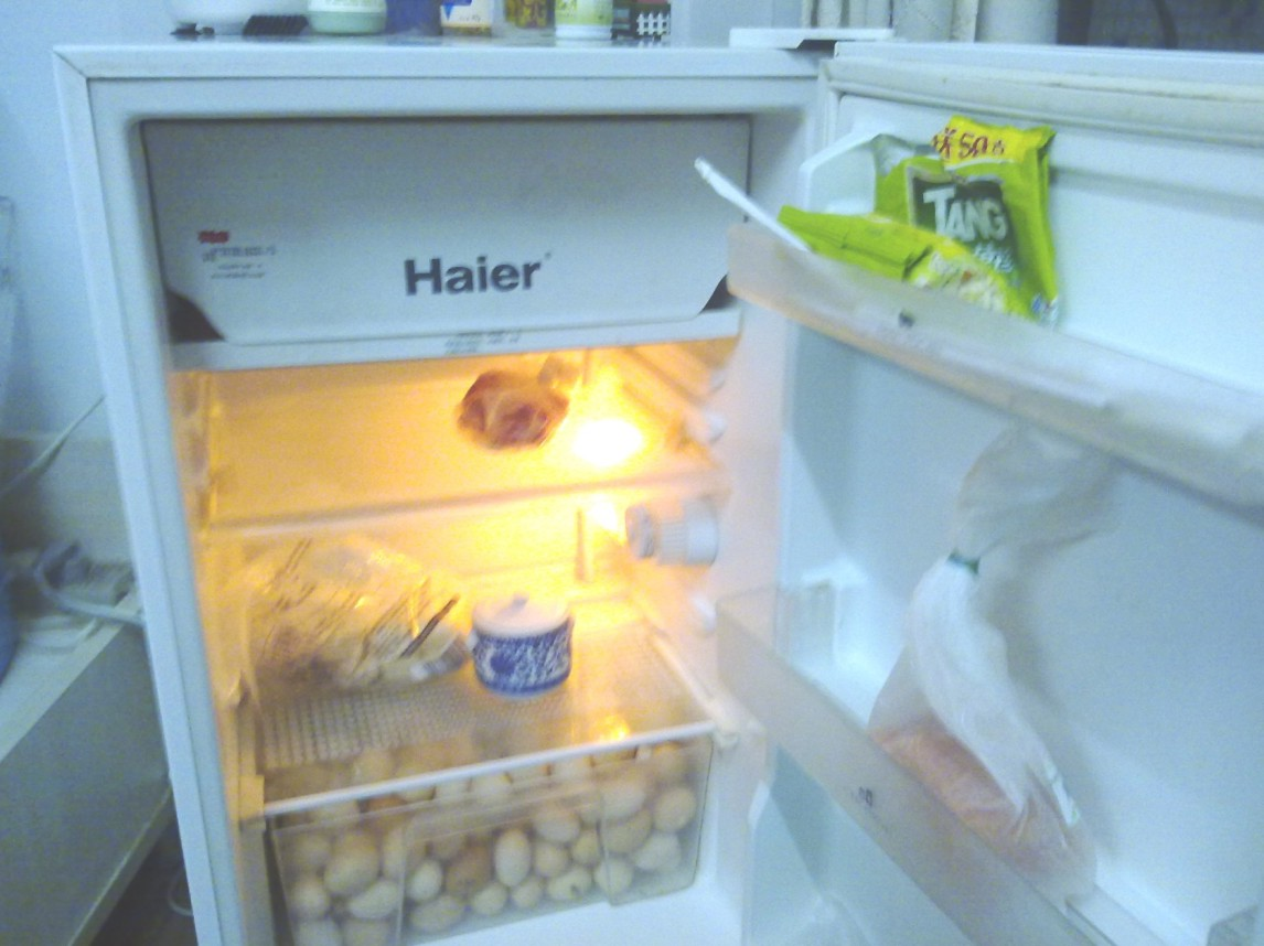 > 低价转让海尔冰箱,怡宝饮水机!