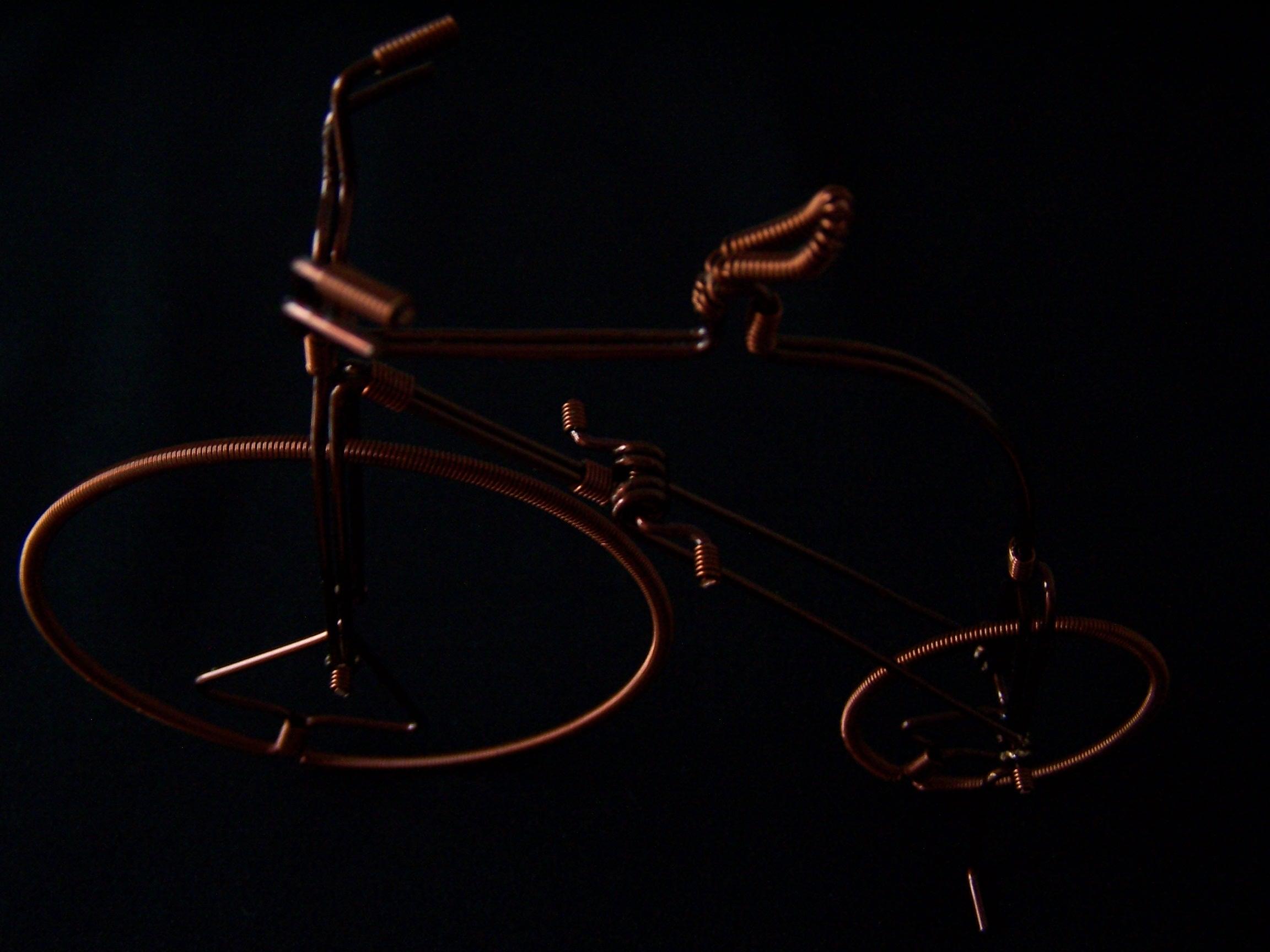工艺品)珍藏及馈赠佳品-----手工制作古色古香之铜丝