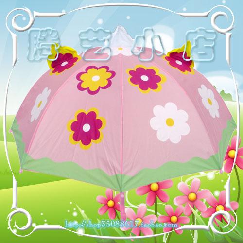 > 外贸儿童卡通雨伞,22元一把,超级可爱,美观又耐用,安全.