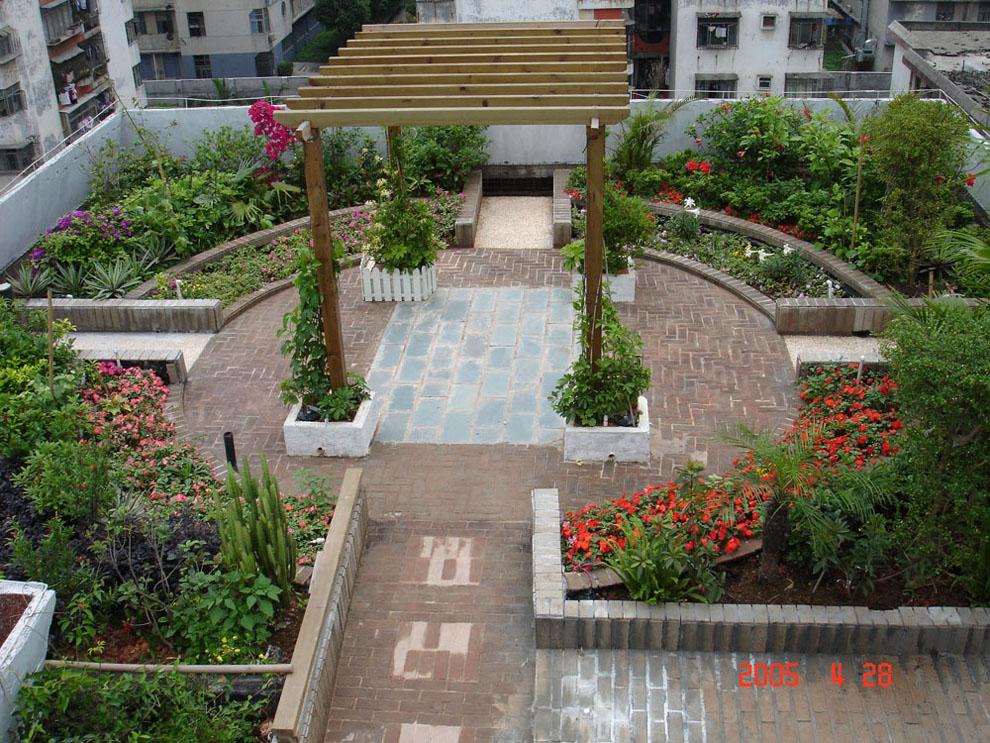 楼顶花园设计 施工,要有此类项目经验