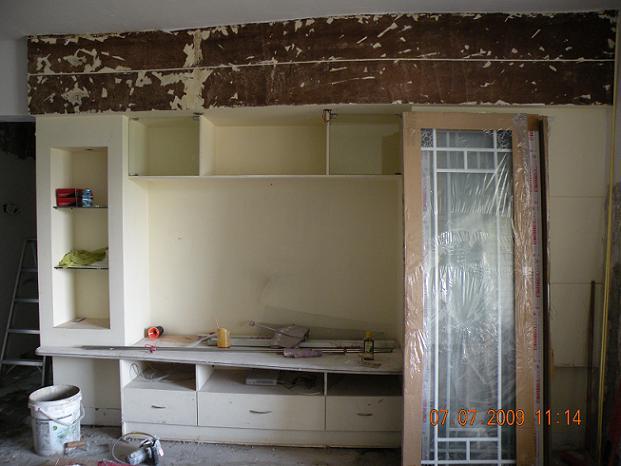 寻油漆工--木柜翻新 附图