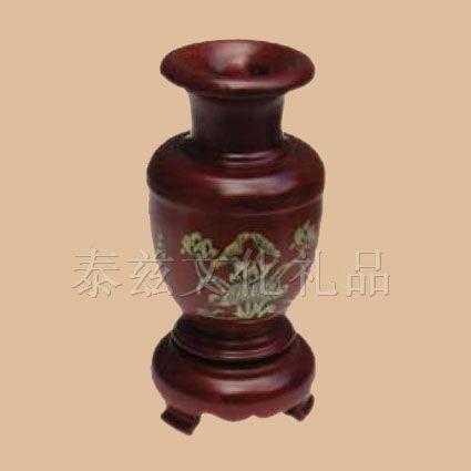 红木小花瓶,越南红木