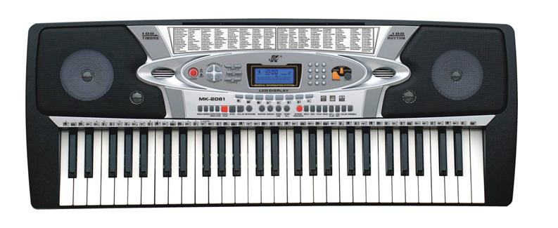 相信自己电子琴谱子