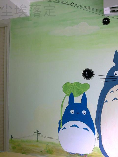 > 手绘墙画——个性自由的选择