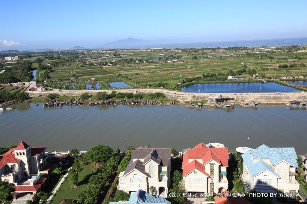 深圳新梅园老板汕头金叶岛的别墅游艇家园