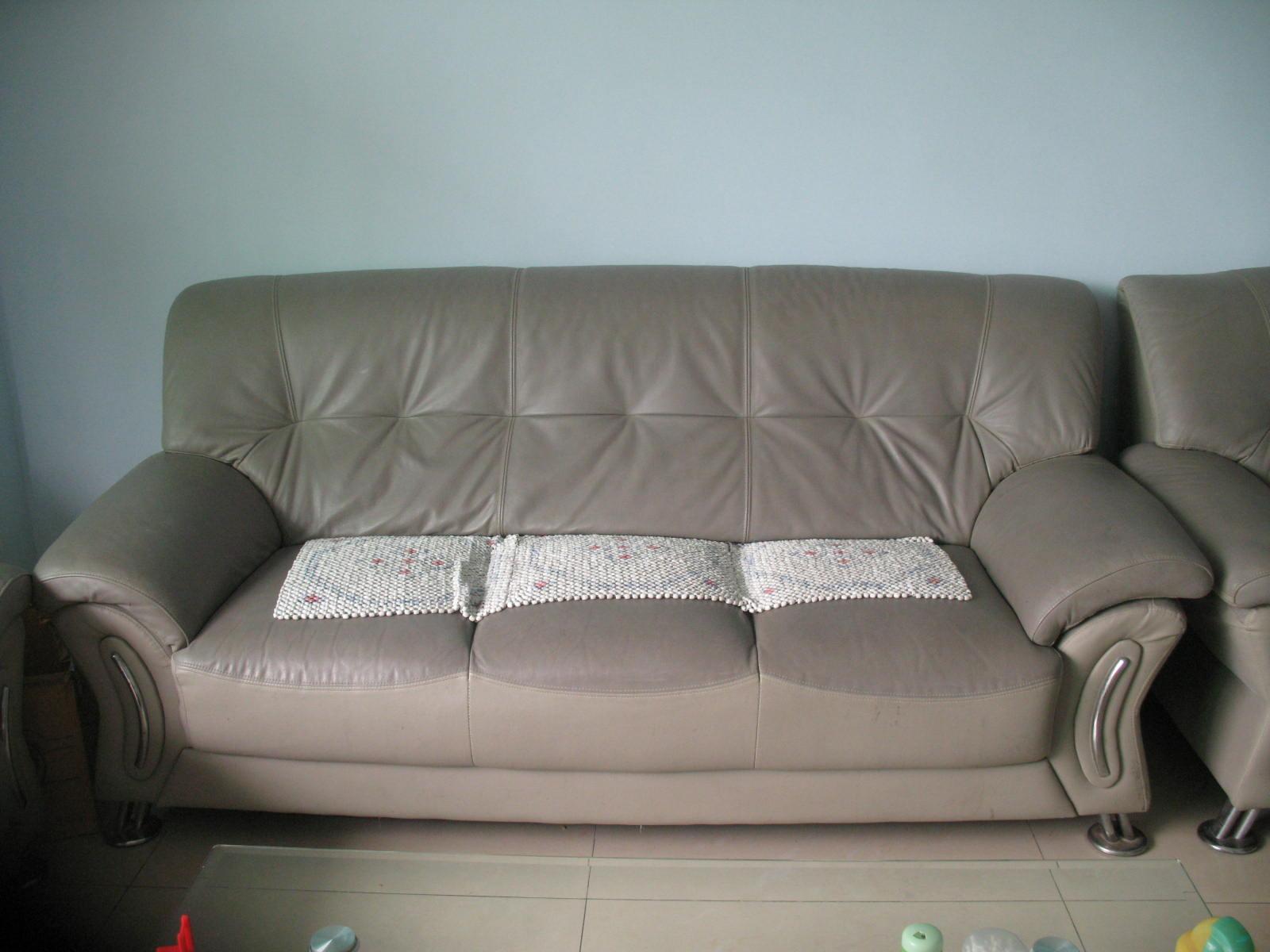 重新装修房子,低价转真皮沙发