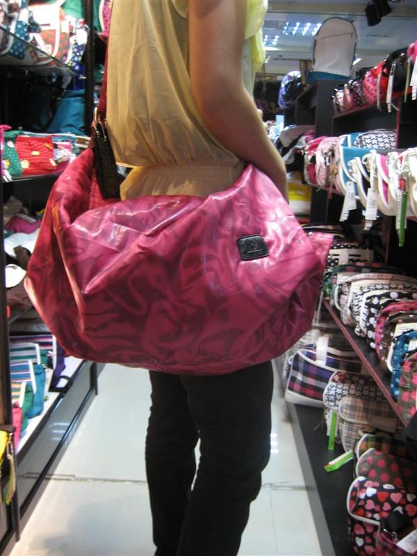 鱼形状的背包